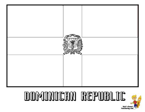 dominican free coloring pages