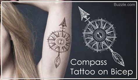 compass tattoo significance enthralling compass tattoo design ideas and their meaning