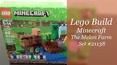 Lego 21138 Minecraft The Melon Farm lego minecraft build the melon farm set 21138
