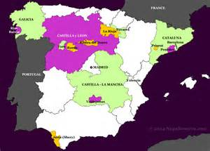Spain Wine Map by Spain Wine Map Pictures To Pin On Pinterest