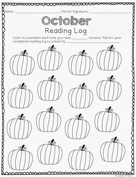 printable monthly reading log for kindergarten mrs prince and co monthly reading logs