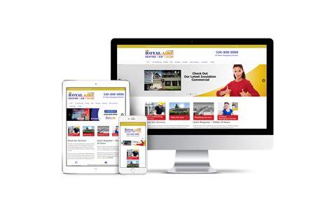 Handmade Web - custom website royal aire bedrock markets