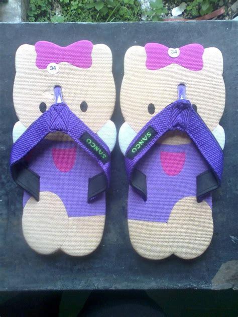 Sandal Sancu Lucu Hello sandal jepit grosir
