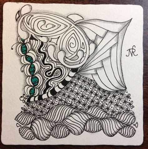 zentangle pattern a day the blog nansaidh us 187 zentangles