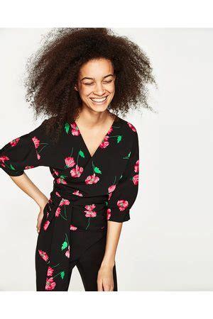 Blouse Zara Best Seller wikkelblouse blouses tunieken kleding nl