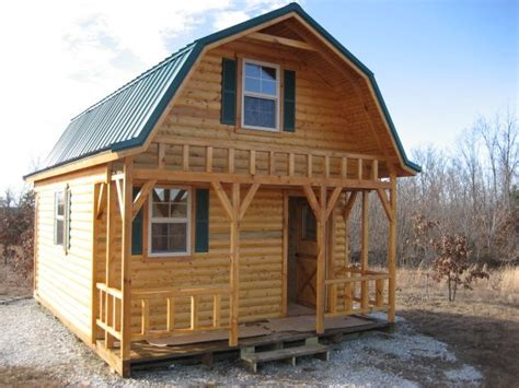 barn style cabins barn style cabin tiny house pinterest