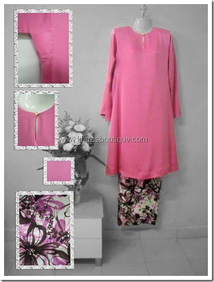 Baju Kurung Pesak Gantung Kain Tenun khazisboutique kurung pesak gantung pink kosong kain corak bk01 rm93 harga