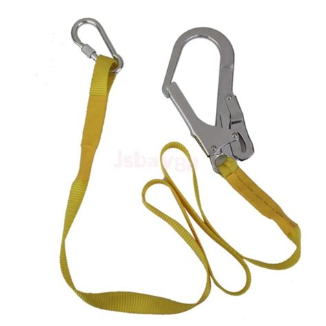 22kn safety harness fall arrest lanyard hook