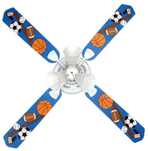 Sports Ceiling Fans With Lights Sports Fanatic Boys Ceiling Fan With Lights Ceiling Fans