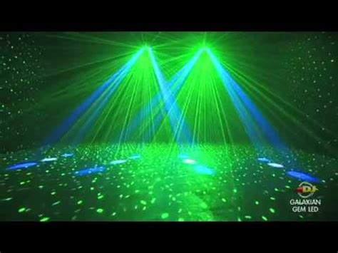 big disco light dj galaxian gem led moonflower laser dmx disco