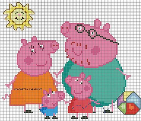 xsd pattern special characters 17 best images about point de croix peppa pig on pinterest