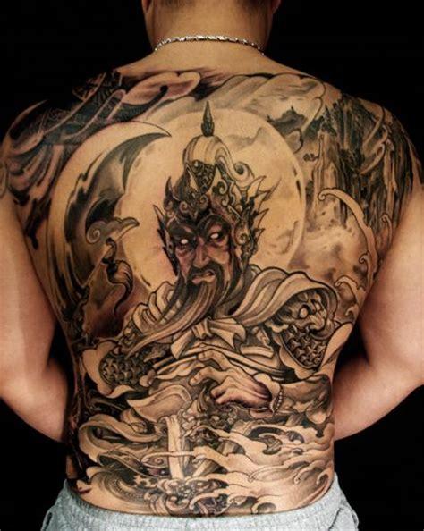 tattoo back warrior toronto tattoo shop gwan yu warrior tattoo on back