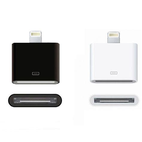 Adaptor Charger Iphone 5 Dock Connector Charger Adapter Converter 30pin To 8 Pin For Iphone 5 To Iphone 4 Ebay