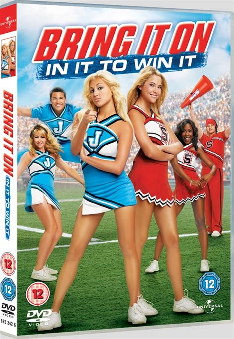 Dvd Bring It On news bring it on in it to win it uk dvd r2 dvdactive