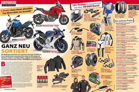 Ps Motorrad Leserwahl 2015 by Motorrad News Leserwahl Zum Motorrad Des Jahres 2015