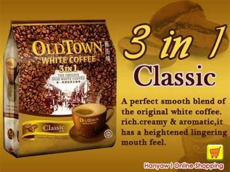 Town Coffee shopping for town white coffee 3 in 1 classic