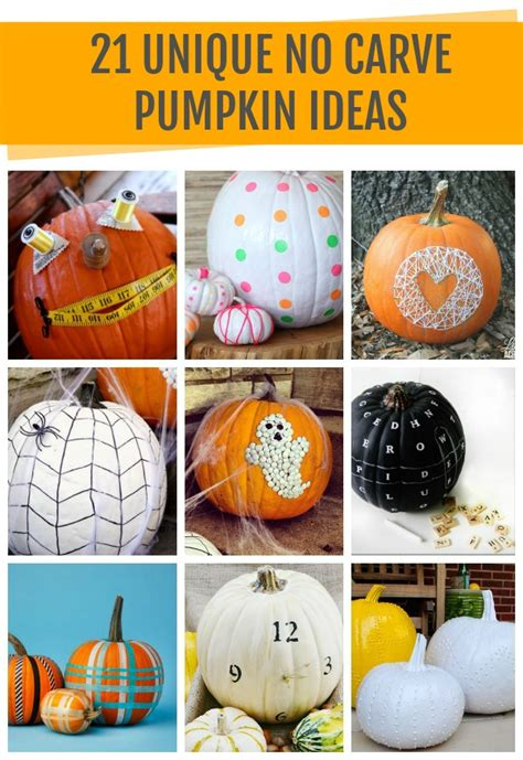 unique pumpkin ideas craft
