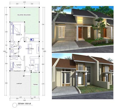 desain rumah lebar 5 meter 67 desain rumah minimalis couple desain rumah minimalis