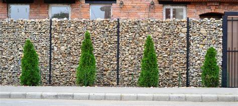 Mur En Cailloux by Mur En Grillage Et Cailloux Obasinc