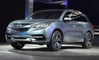 Acura Auto 2014 Acura Mdx Prototype Gets New V6 Eye Lights