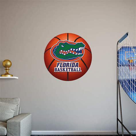 florida gators wall decor florida gators basketball logo wall decal shop fathead