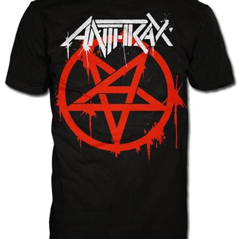 T Shirt Anthrax Pentathrax Import 36 best anthrax shirts images on t shirts