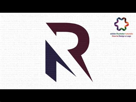 r logo design images r logo design adobe illustrator cs6 how to custom letter r