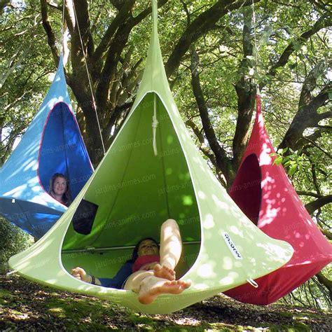 Tente Hamac Suspendue by Tipi Suspendu Tente Cacoon Tentes Hamacs Voiles