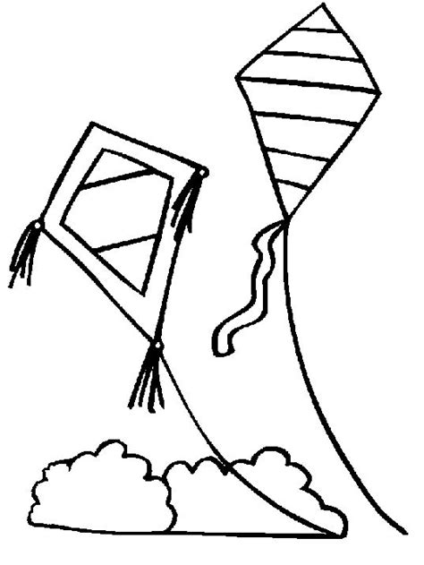 printable coloring pages kites 14 kids coloring pages kite print color craft