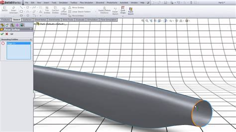 solidworks tutorial wind turbine sw tutorial surface modeling modeling a blade for a