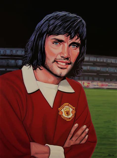 georg best george best painting painting by paul meijering