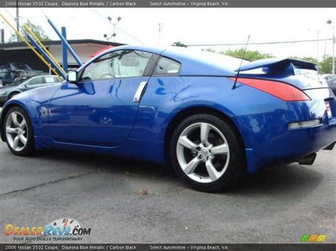car picker blue nissan 350z