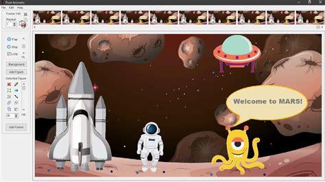 video pembelajaran kelas  cerita luar angkasa pivot