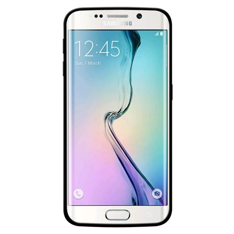 Jelly For Samsung Galaxy S6 amzer silicone skin jelly for galaxy s6 edge black