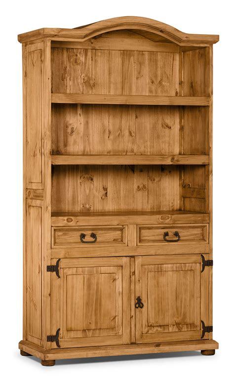 Santa Fe Bookcase santa fe rusticos solid pine provenzal bookcase united furniture warehouse