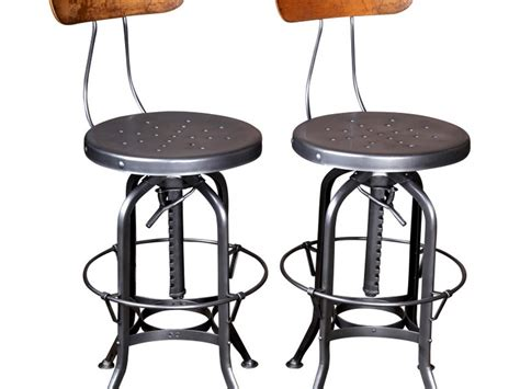 Vintage Bar Stools With Backs by Vintage Industrial Bar Stools With Backs Home Design Ideas