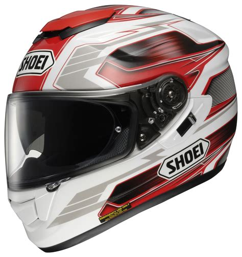 Helmet Shoei Shoei Gt Air Inertia Helmet White Red Jpg