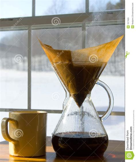 Cold Morning Coffee Stock Photo   Image: 7977820