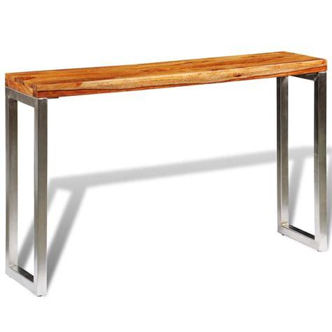 tavolo a console articoli per tavolo console in legno massello di sheesham