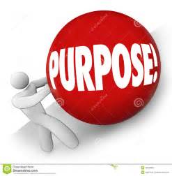 purpose rolling uphill goal mission objective in