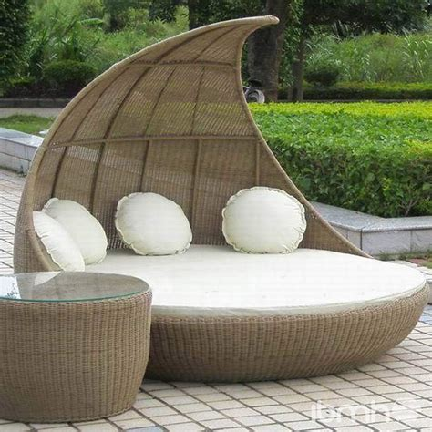 outdoor bed import from china garden furniture
