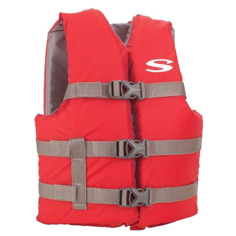 boat safety vest stearns youth red boating life vest 3000004472 the home