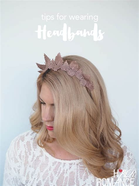 5 Tips For Wearing Headbands This Seasons Accessory by How To Wear A Headpiece And A Braid Tutorial Hair