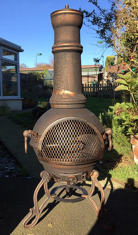 how to use a chiminea what is a chiminea and how do i use one lawn border