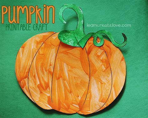 printable pumpkin craft