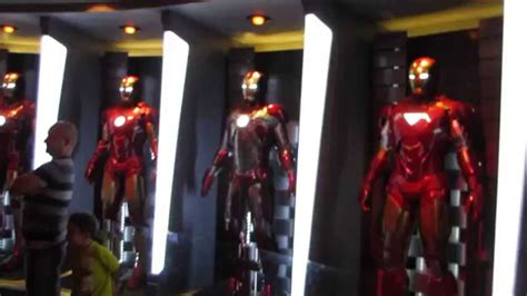 avengers iron man armor evolution tony stark exhibit