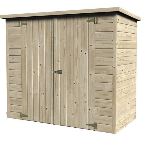 abri de jardin pour velo abri 224 v 233 lo bois naturelle l 193 x h 161 x p 98 cm leroy merlin