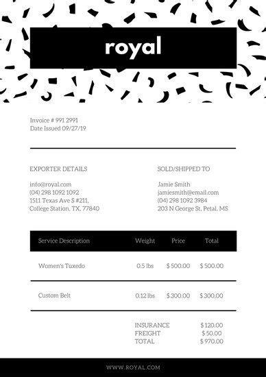 canva order form best 25 invoice sle ideas on pinterest invoice exle