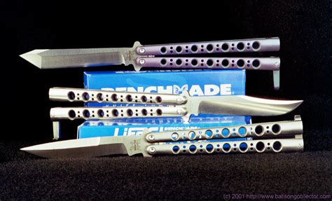 benchmade model 47 the balisong collector reviews the benchmade 43 and 47