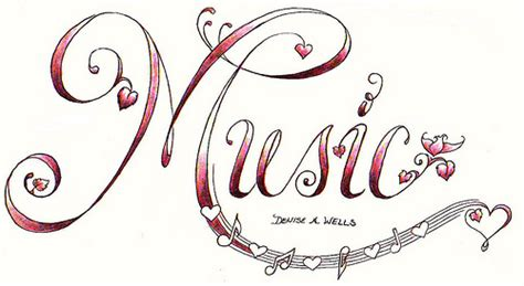 heart music note tattoo designs quot quot design by a flickr photo
